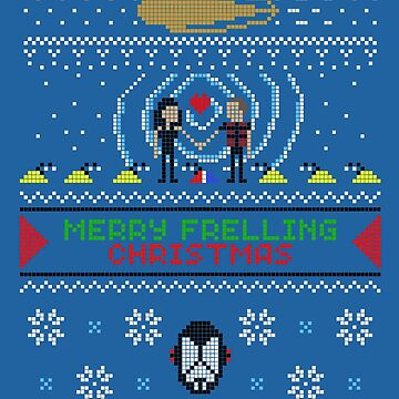 Merry Frelling Christmas Ugly sweater by spritelady
