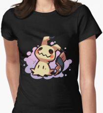 Mimikyu Pokémon Sol y Luna / Mimikyu Pokemon Sun and Moon Womens Fitted T-Shirt