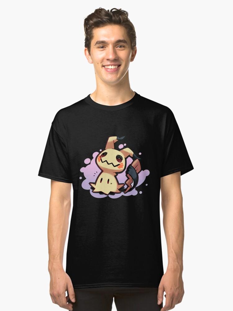 Mimikyu Pokémon Sol y Luna / Mimikyu Pokemon Sun and Moon Classic T-Shirt Front