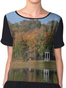 Autumn Park Chiffon Top
