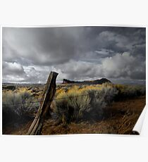 Just To Touch The Past ~ Fort Rock ~ Poster