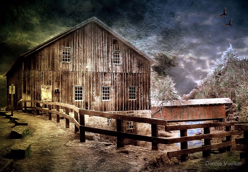 The Grist Mill by Donnie Voelker