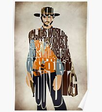 Blondie - The Good, The Bad and The Ugly Poster