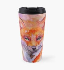 Watercolor colorful Fox Thermosbecher