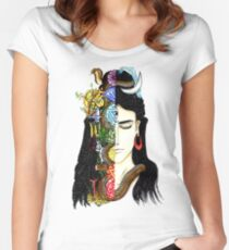 Lord Shiva Women's Fitted Scoop T-Shirt