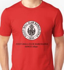 Weinlese-Fußball-Club Barcelona Slim Fit T-Shirt