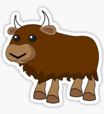 Yak Sticker