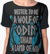 wolf of odin - shieldmaiden Chiffon Top