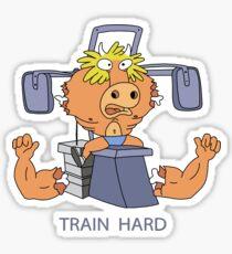 Train Hard or Die Sticker