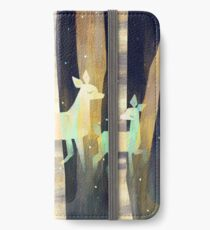 Ghost Deer iPhone Wallet