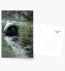 Drainage Postkarten