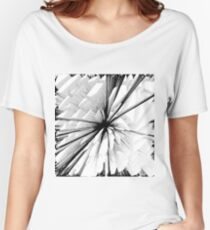 Abstract black pattern Women's Relaxed Fit T-Shirt