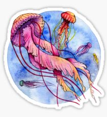 Underworld - Jellyfishes Sticker