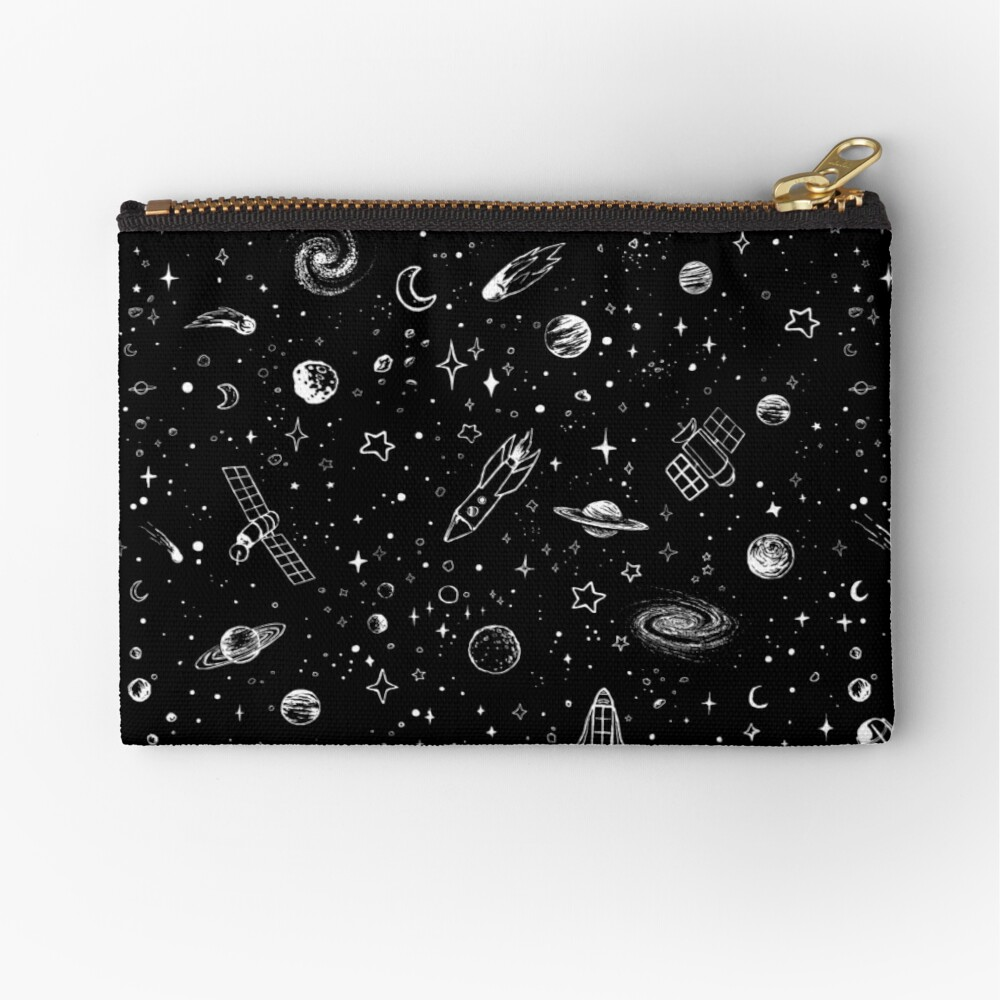 Space Zipper Pouch