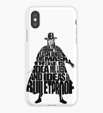 V for Vendetta iPhone Case