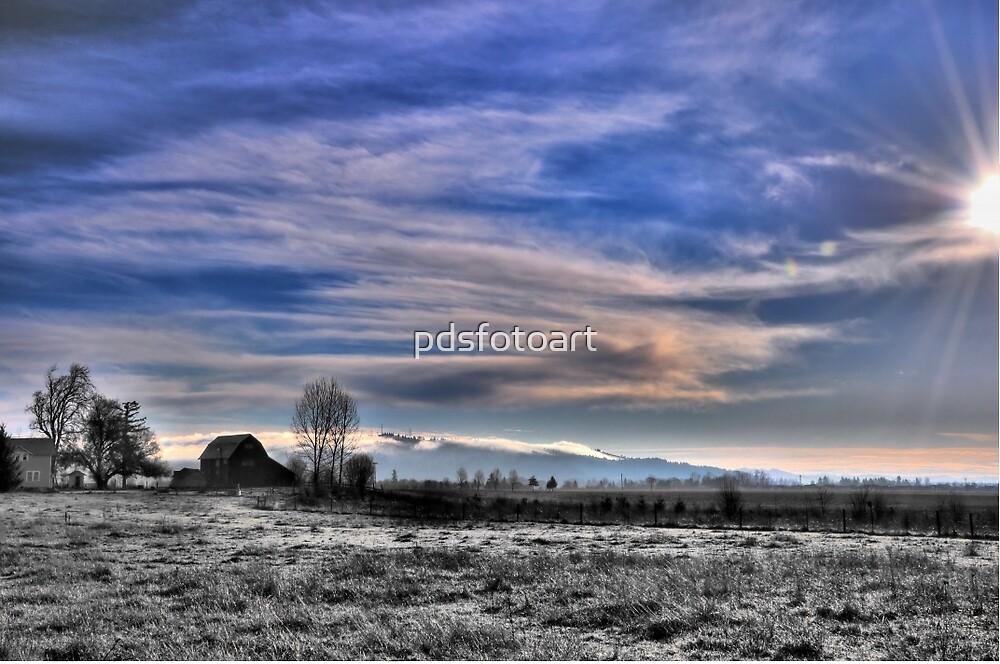 Early morning Oregon by pdsfotoart