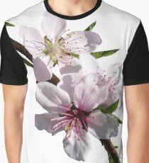 Peach Blossoms Graphic T-Shirt