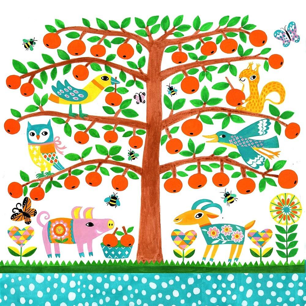 fruit tree by HuiSkipp