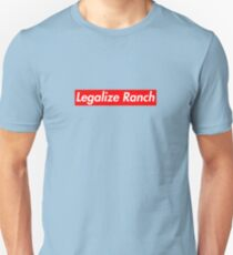 Legalize Ranch - Red Unisex T-Shirt