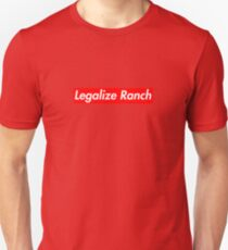 Legalize Ranch - Red T-Shirt