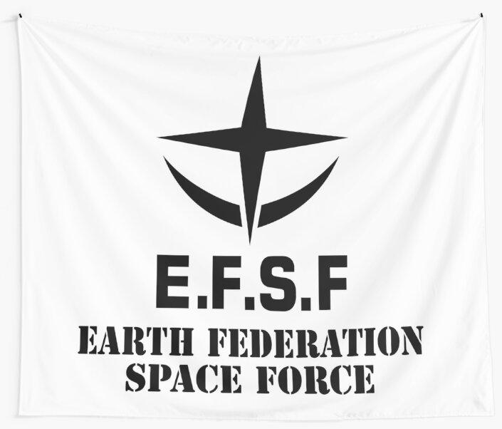 "EFSF - BLACK"" Wall Tapestries ..."