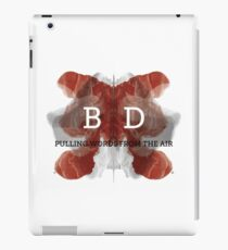 Bey Deckard - Pulling Words From the Air iPad Case/Skin