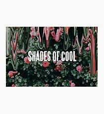 Shades of Cool Photographic Print