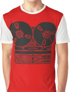 Reel-to-reel red fabulous design! Graphic T-Shirt