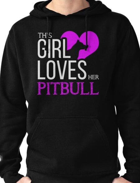 Pitbull Pullover Hoodie