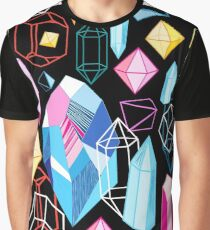 Bright pattern crystals Graphic T-Shirt