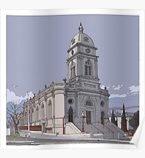 Brougham Place Church Winter Poster