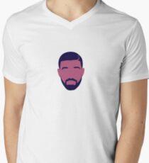 Drake Mens V-Neck T-Shirt