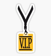 tag badge necklace friends team logo member vip person important especially party shirt design motif cool celebrate boss Sticker