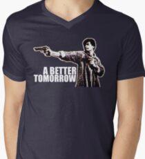 A Better Tomorrow Mens V-Neck T-Shirt