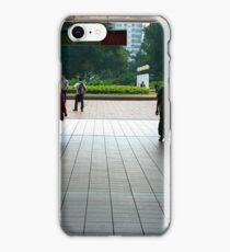 Subway entrance, Kowloon Park iPhone Case/Skin