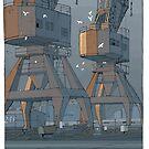 Port Adelaide by David  Kennett