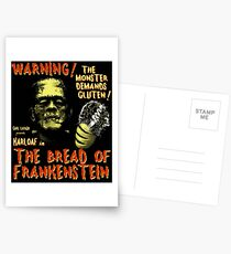 The Bread of Frankenstein Postcards