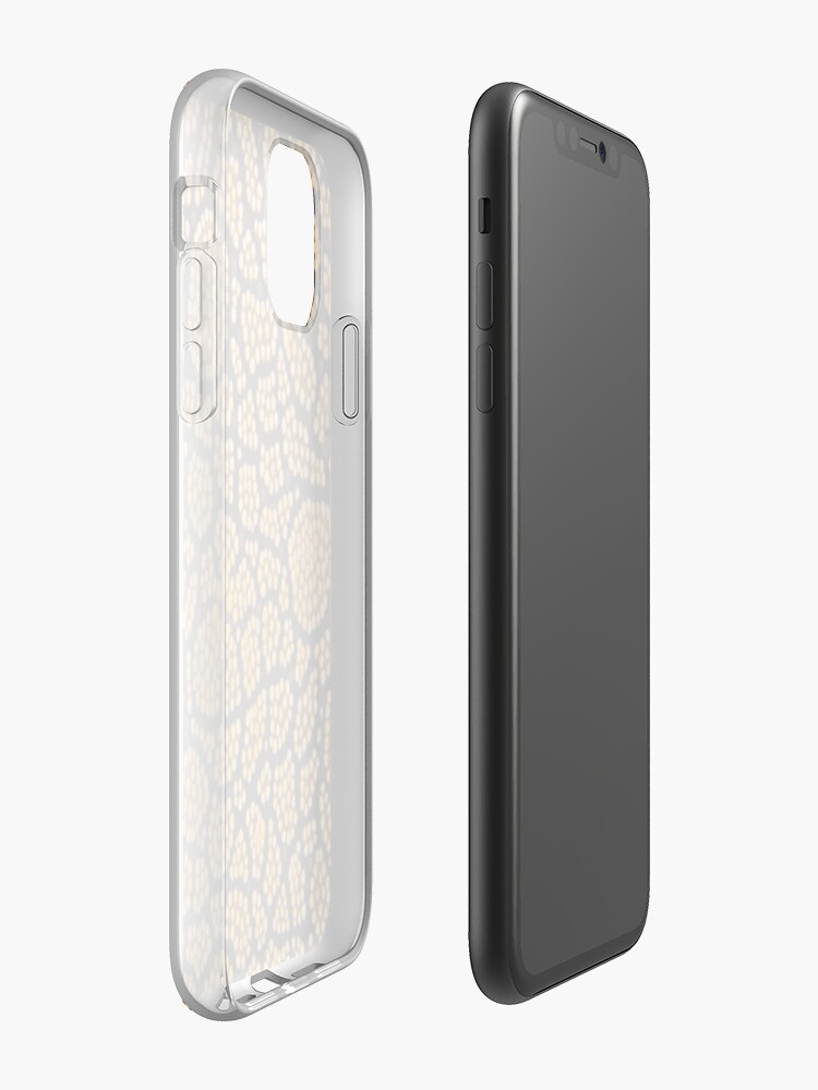 Alternate view of Dot painting iPhone Case & Cover