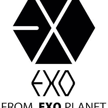 EXO - EXO FROM.EXO PLANET - Black by poppy-shop