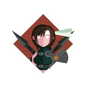 Yuffie by drawsgood