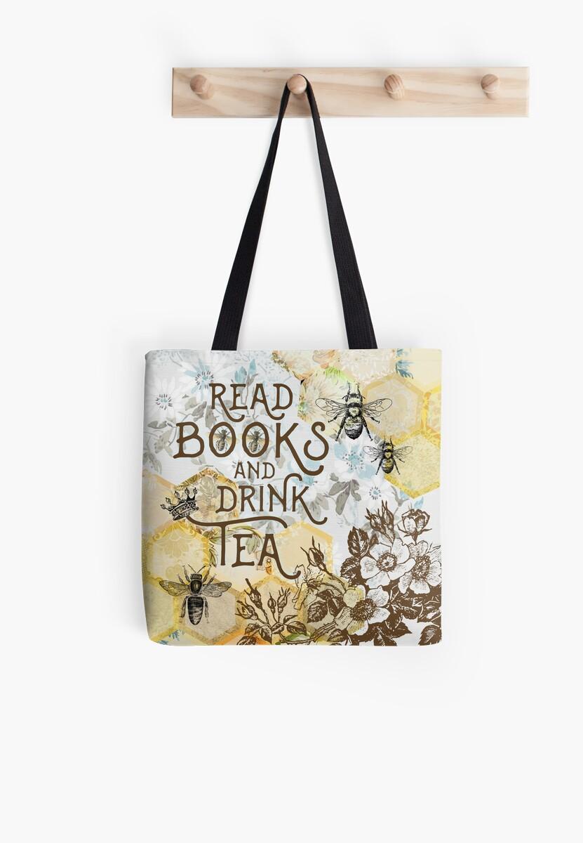 Bee Tea and Books  by Nyx van Sulli