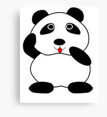 Cute Panda  Canvas Print