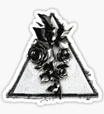 Pegatina triangulo de las Bermudas