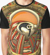 Egyptian Falcon Sun God Ra Graphic T-Shirt