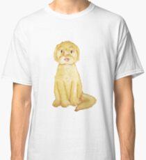 Watercolor Goldendoodle- Basic Classic T-Shirt