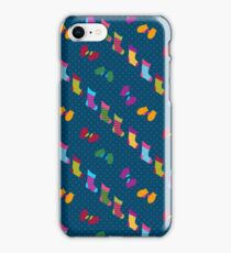 Stockings and Mittens Pattern iPhone Case/Skin