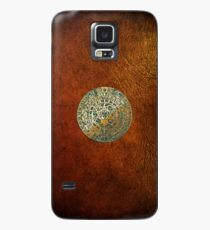 Ancient Mayan (Aztec) Calendar (Jade & Gold)  Case/Skin for Samsung Galaxy