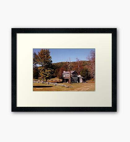 """""""Philip's PLace, through the Camera's Eye""""... prints and products Framed Print"""