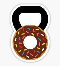 Kettlebell Donut Sticker
