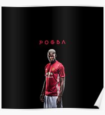 Paul Pogba In Manchester United Poster
